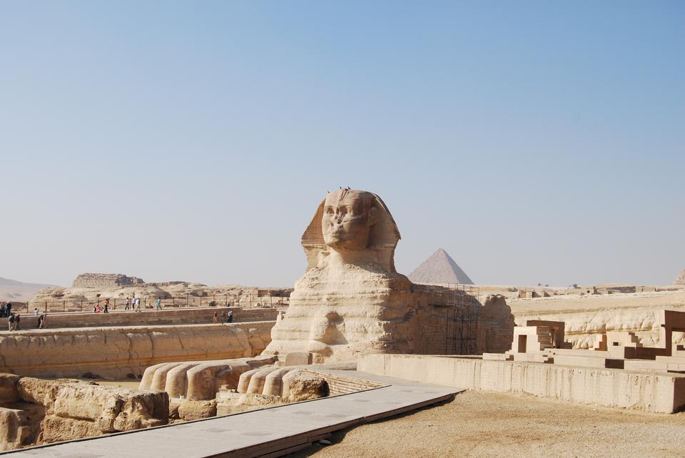 Free The Great Sphinx of Giza in Egypt