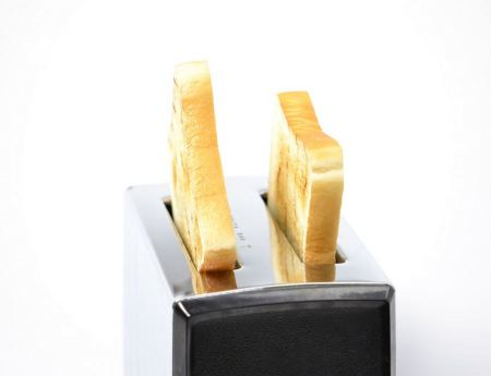 Free Bread toaster over a white background