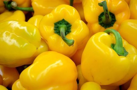 Free Yellow pepper isolated