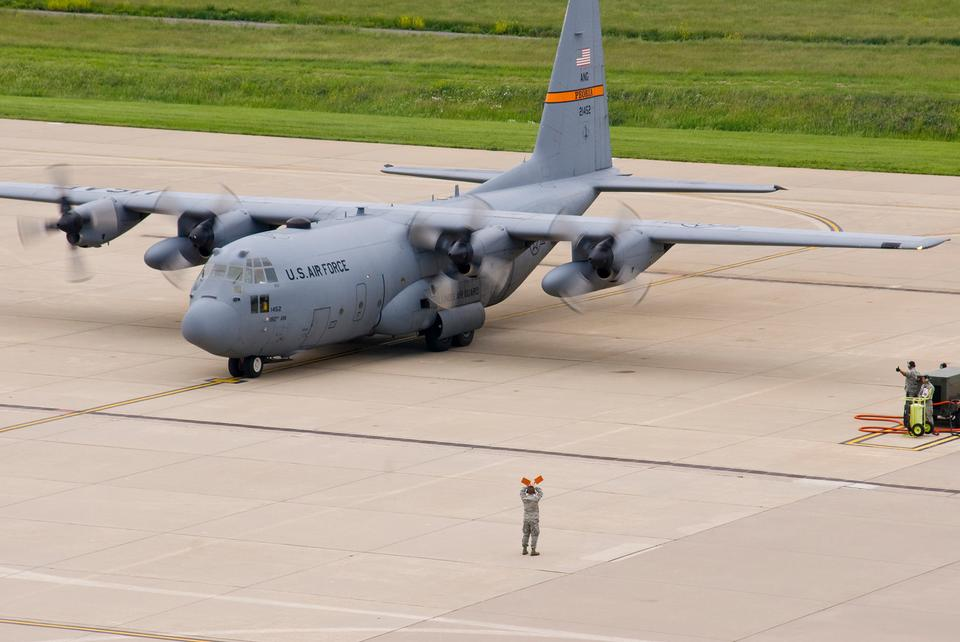 Free Air National Guard C-130H3 Hercules