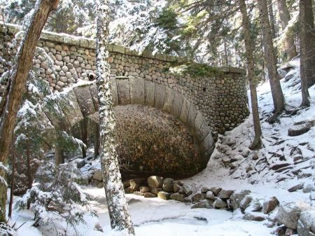 Free Cobblestone Bridge Acadia National Park
