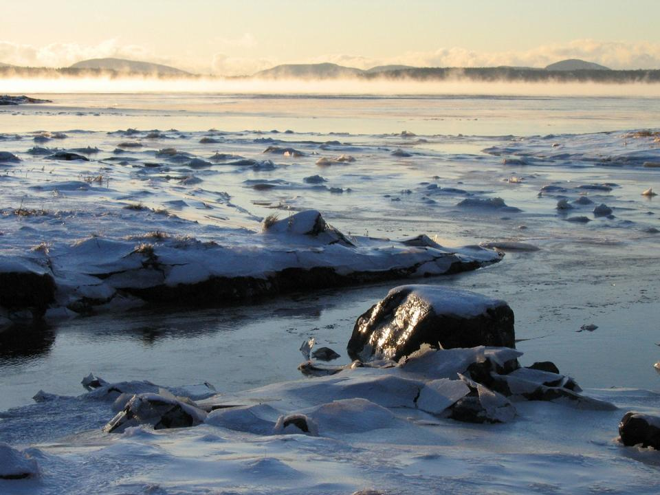 Free Photos: Winter Sea Smoke National Park | publicdomain