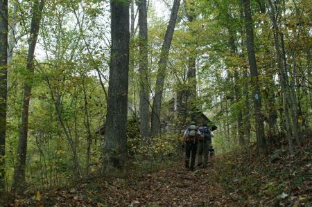 Free Autumn hiking in the mountains