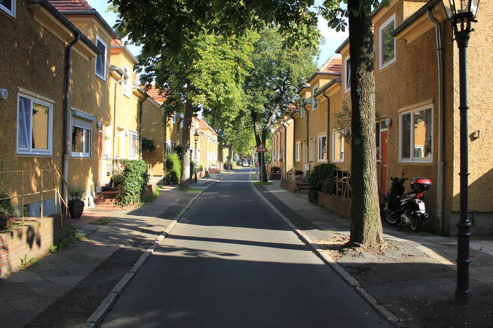 Free Berlin,Gartenstadt Staaken, Siedlung