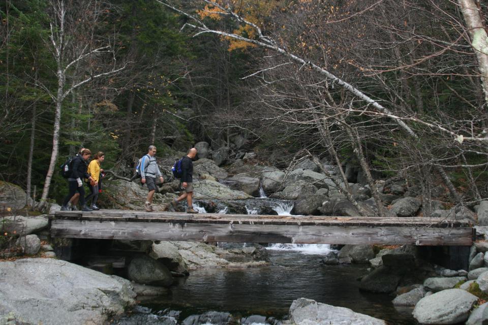 Free Tuckerman Ravine Trail, New Hampshire during the fall