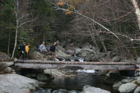 Free Tuckerman Ravine Trail, New Hampshire during the fall