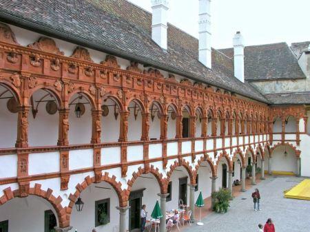 Free Castle with chapel Schallaburg