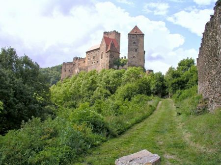 Free Hardegg Castle, National Park Thaya Valley, Lower Austria