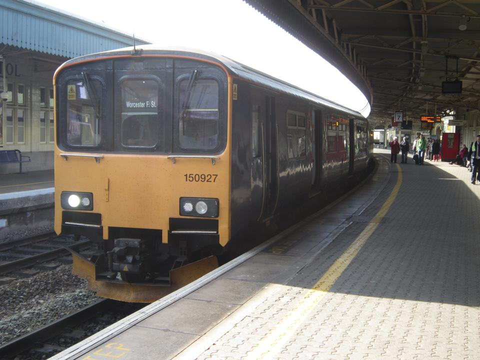 Free First Great Western service at Swindon railway station
