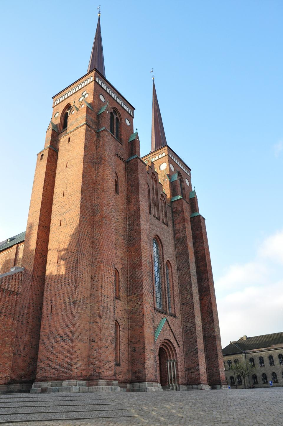 Free Roskilde Cathedral, church of the Danish