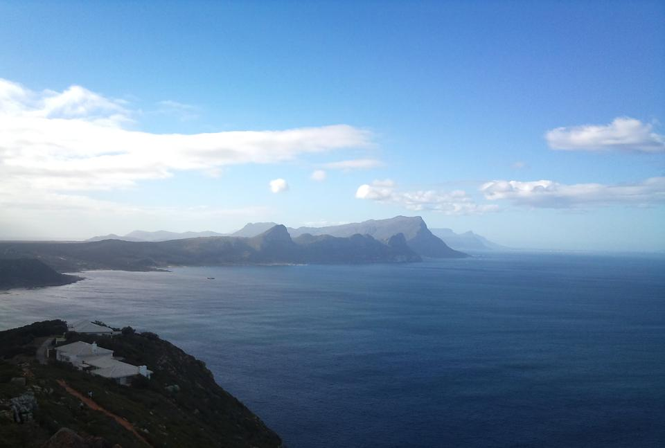 Free View of Millers Point from Cape Point South Africa