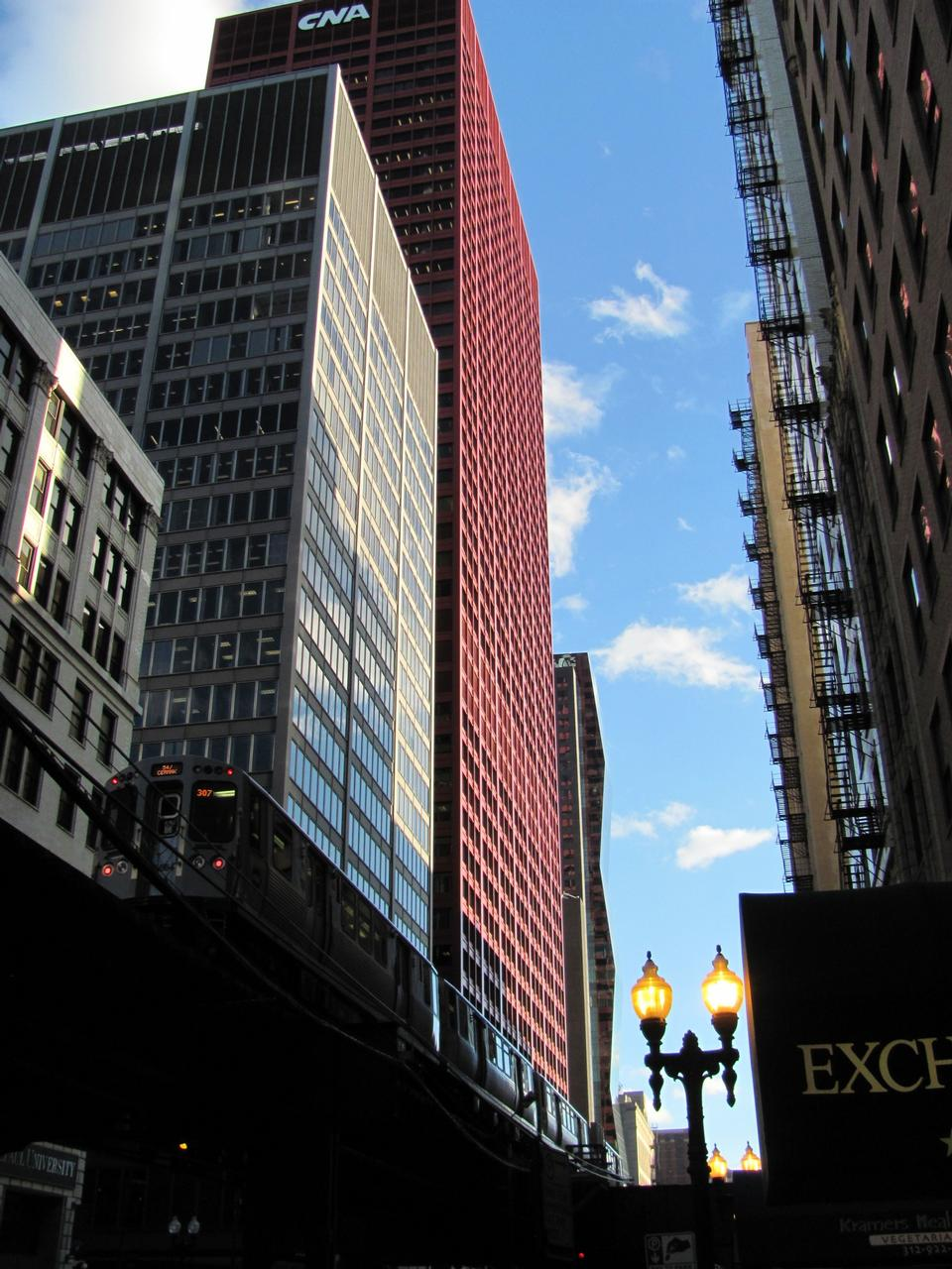 Free Chicago Cityscape