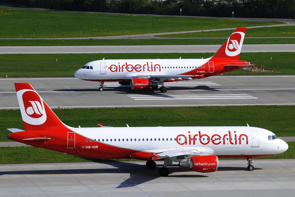 Free Two Airbus A320 from Air Berlin
