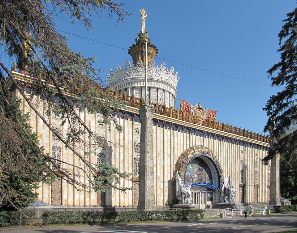 Free Ukrainian pavilion at the Exhibition Center