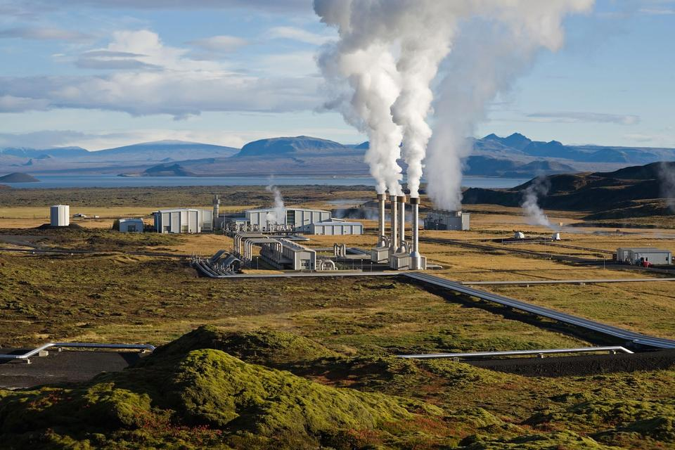 Free The Nesjavellir Geothermal Power Plant in Þingvellir, Iceland