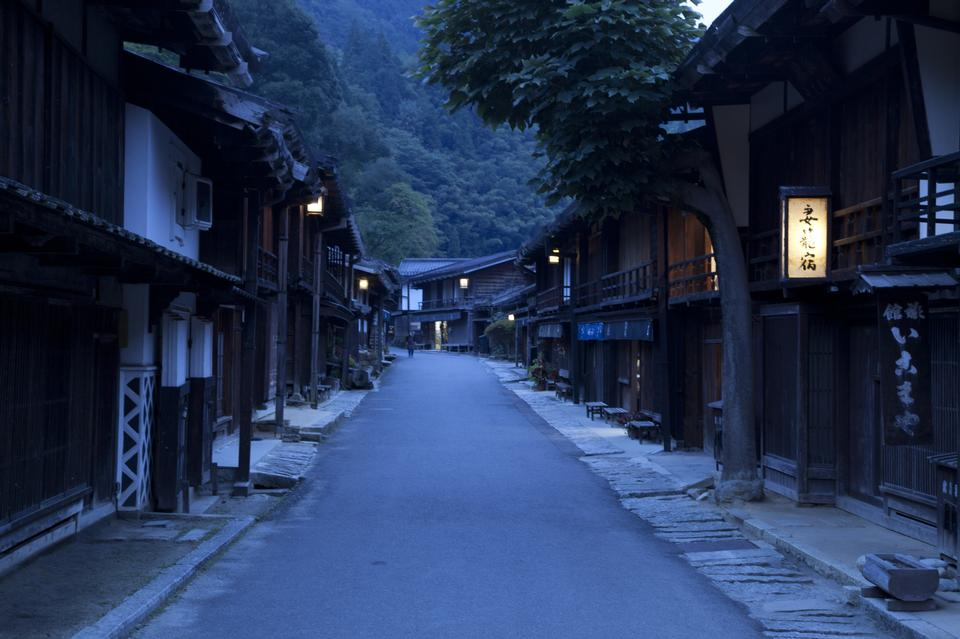 Free Tsumago-juku an old post town
