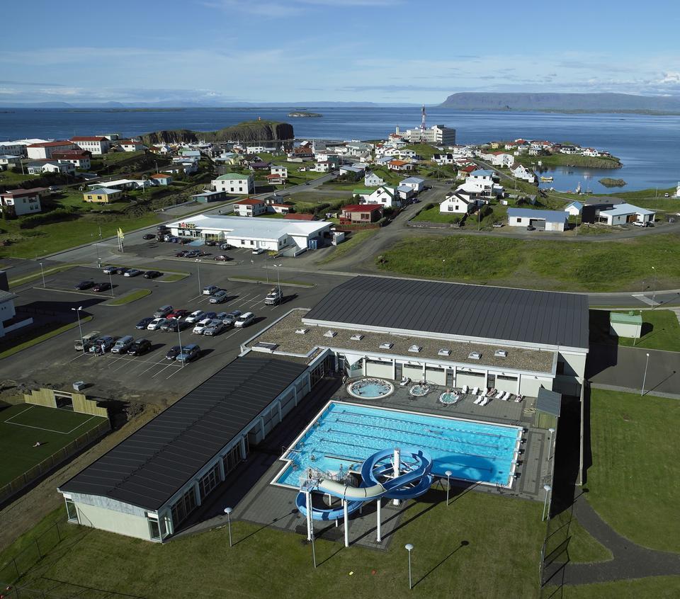Free View of Stykkisolmur, Snaefellsnes peninsula, Iceland