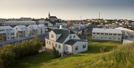 Free Borgarnes city in Iceland