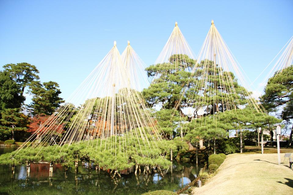 Free Kanazawa Castle Park and Kenrokuen Garden