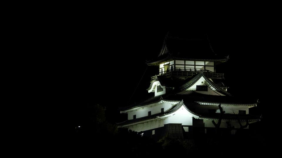 Free Photos: Night View Inuyama Castle | Japanphoto