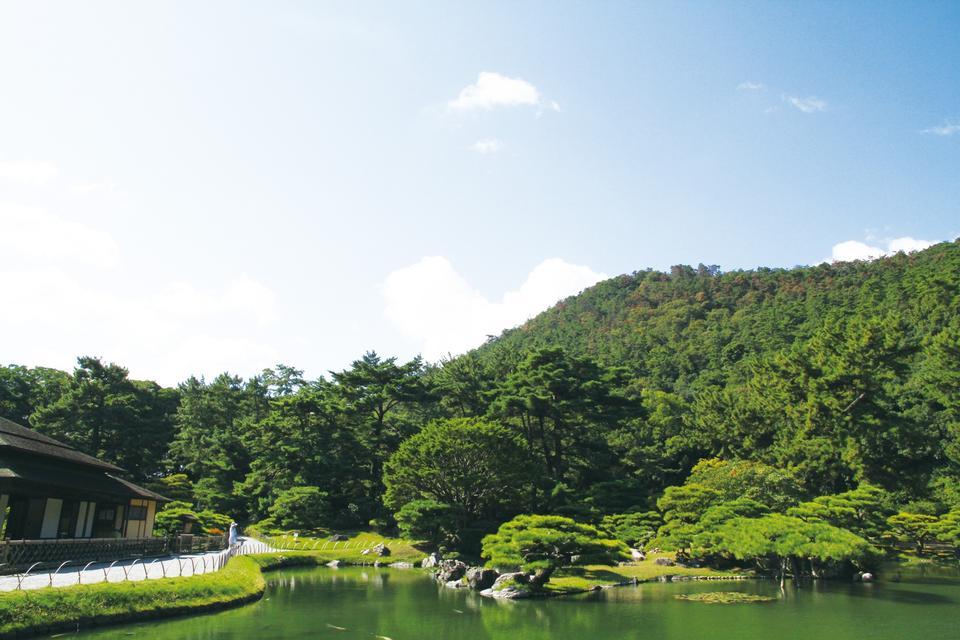 Free Ritsurin Garden Takamatsu Shikoku Japan