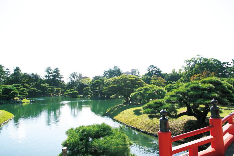 Free Ritsurin Garden  Tourism Shikoku
