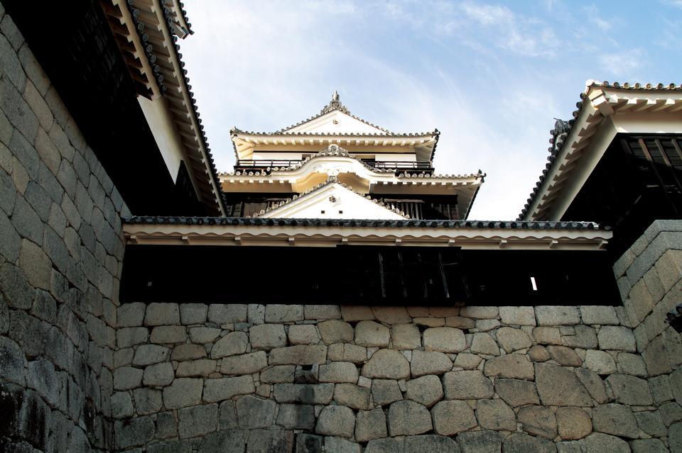 Free Wall of temple Matsuyama Shikoku Japan