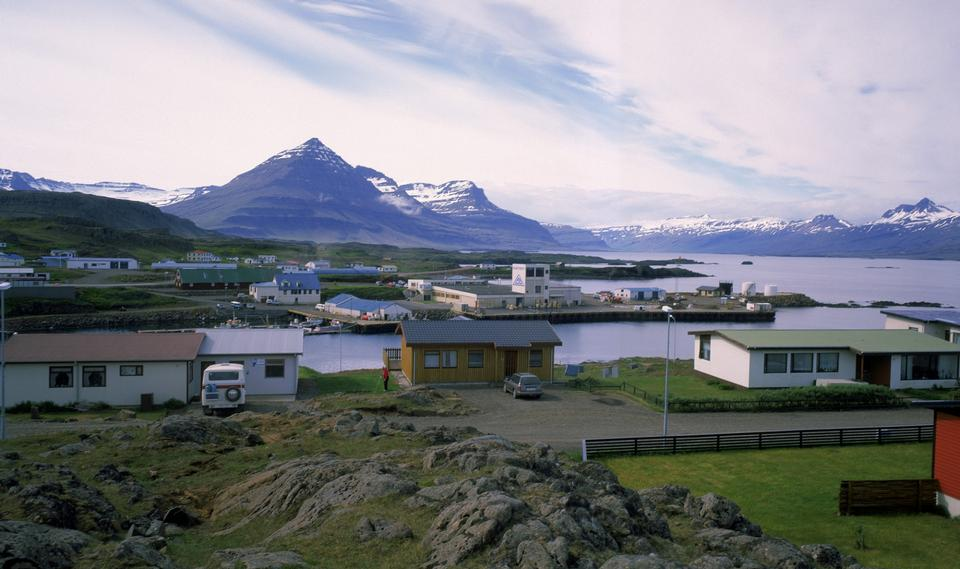 Free Djupivogur fishing village