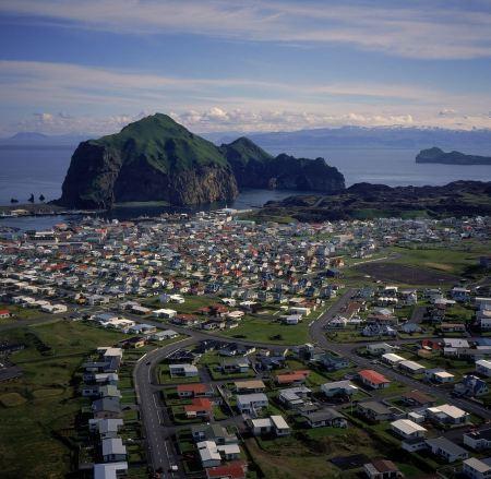 Free Volcanic view of Heimaey - Westman Islands
