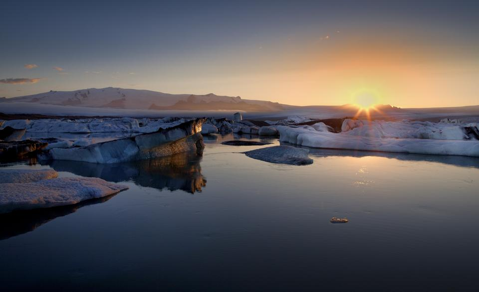 Free Photos: Beautiful Landscape spring panorama at sunset | bluelagoon
