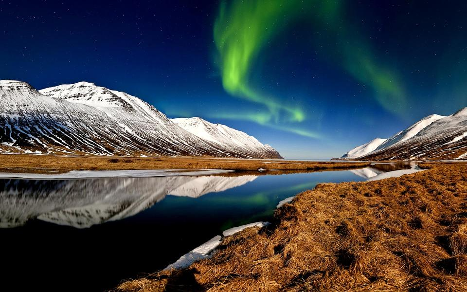 Free Aurora Borealis in Iceland