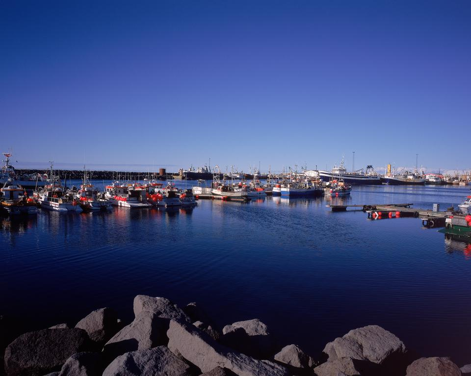 Free Icelandic Seaport Boats for fishing