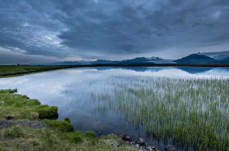 Free Summer landscape in Iceland