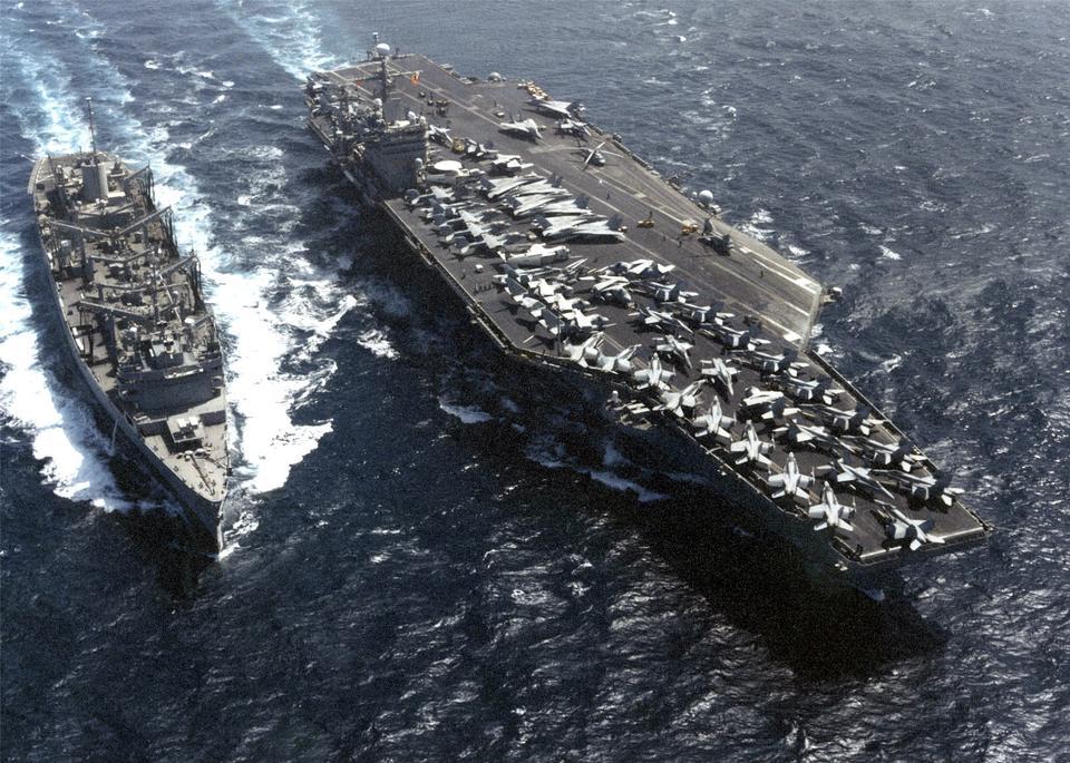 Free USS Carl Vinson and USS Sacramento
