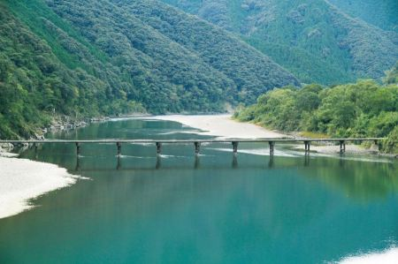 Free Ladscape of Shimanto River in Japan