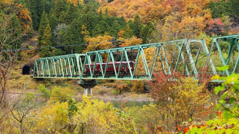 Free Watarase Keikoku Railway Gunma