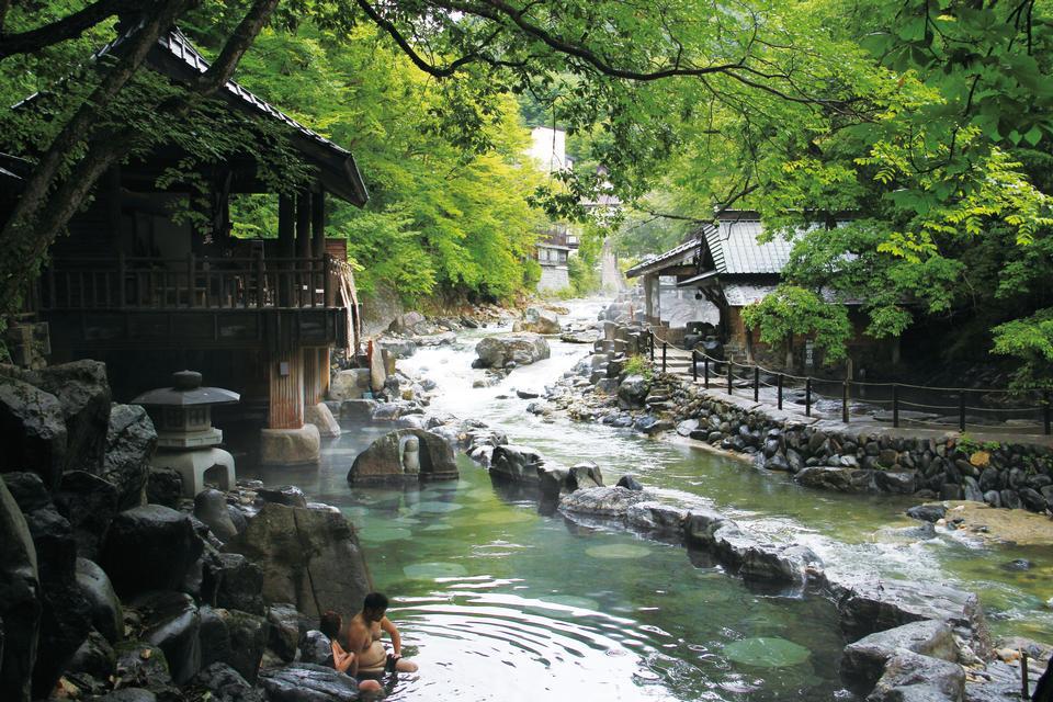 Free Minakami Onsenkyo Tanigawa Hot Springs