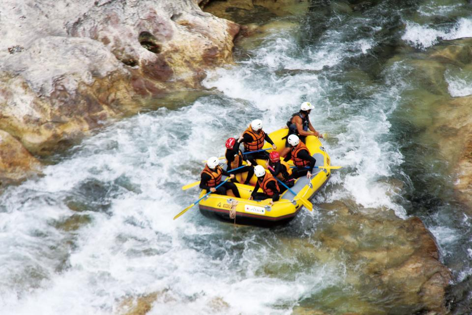 Free Rafting in Minakami