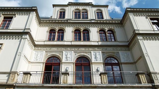 Free dresden germany building villa structure house