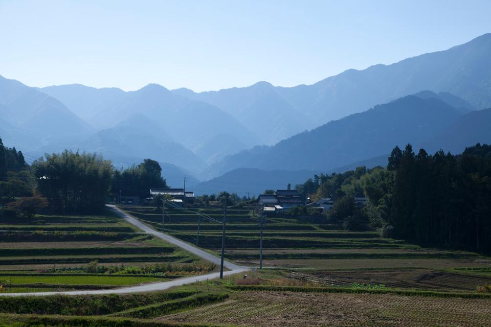 Free View from Magome Pass