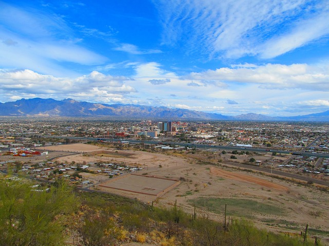Free tucson arizona sky clouds landscape mountains