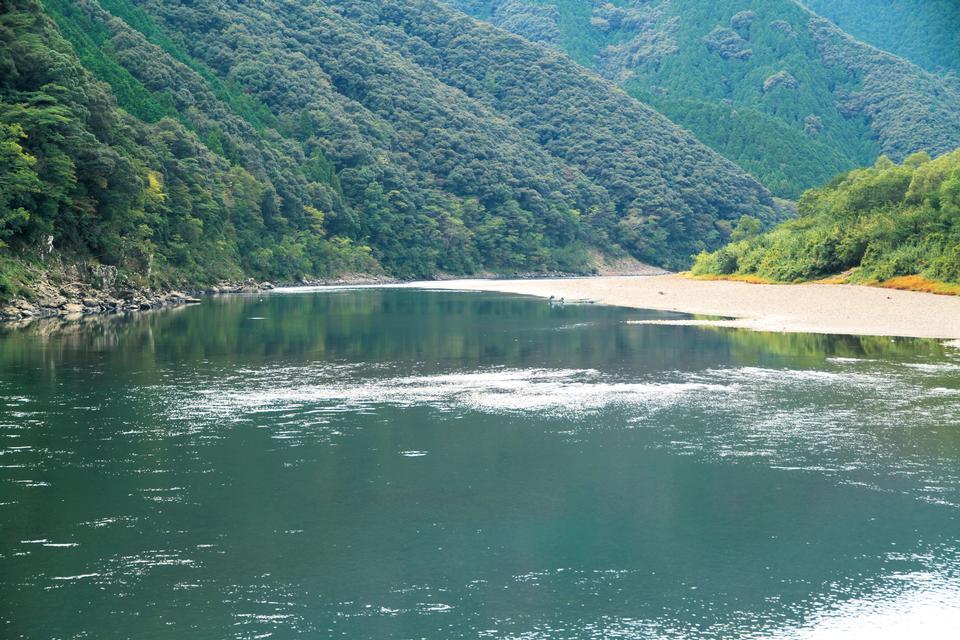 Free Shimanto River Japan