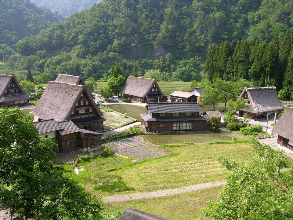 Free Historic Villages of  Gokayama In Japan
