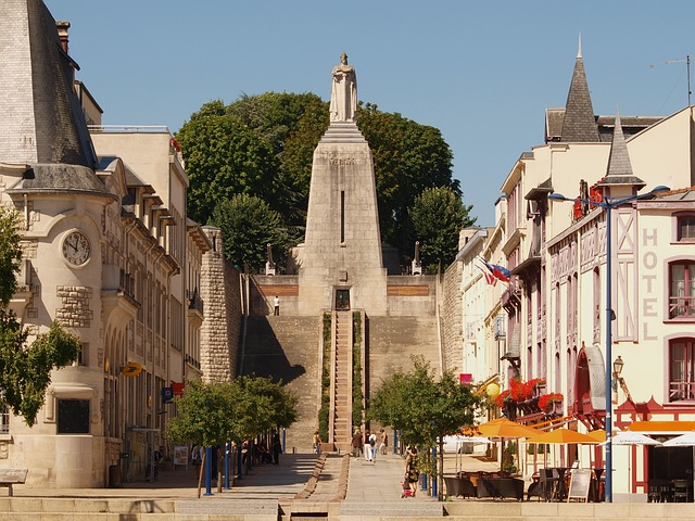 Free verdun france monument buildings trees sky clouds
