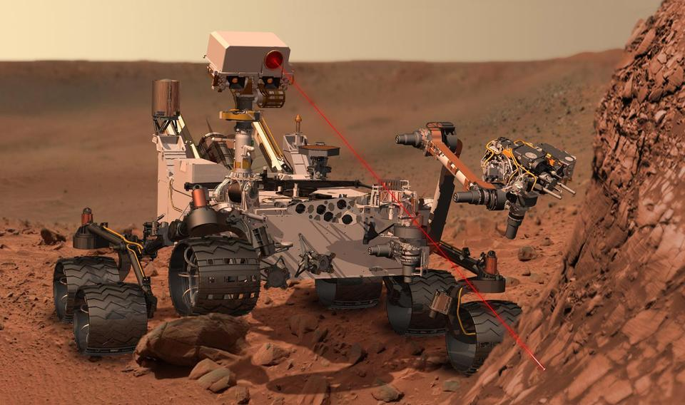 Free Curiosity at Work on Mars
