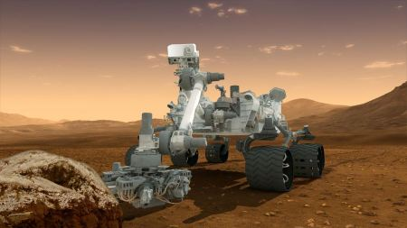 Free Curiosity - Robot Geologist and Chemist in One
