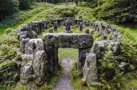 Free The Druids Temple Ilton North Yorkshire