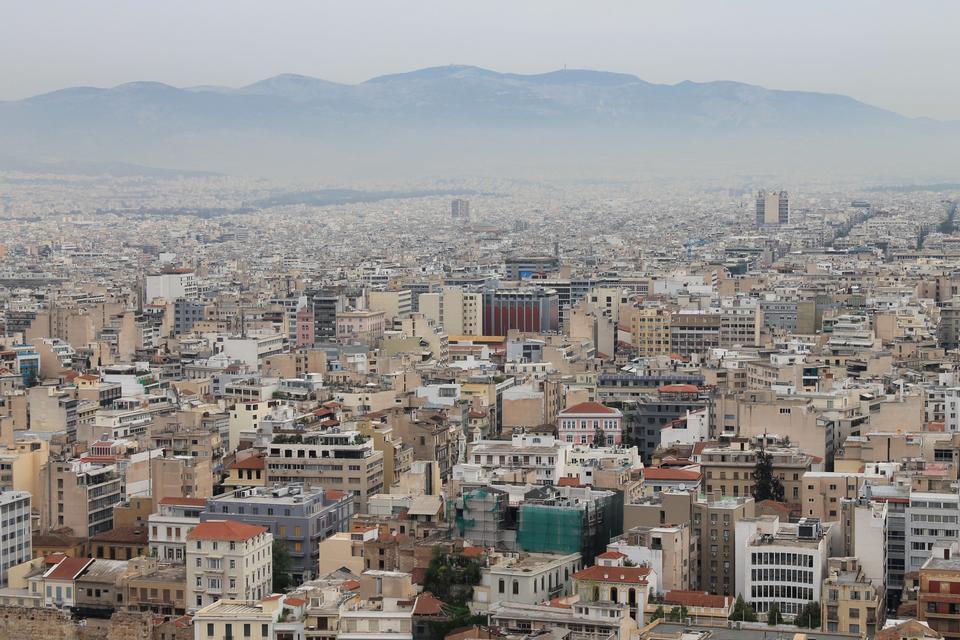 Free Cityscape Athens Greece