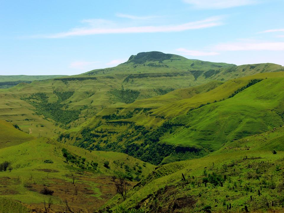 Free Valley of a 1000 hills in Zululand, South Africa