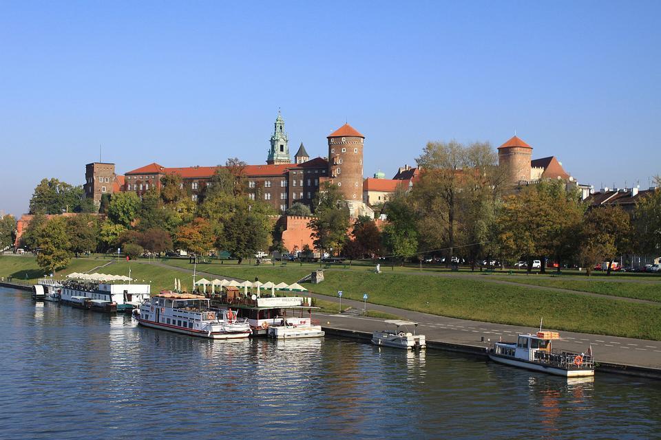 Free Wawel Royal Castle in Krakow Poland